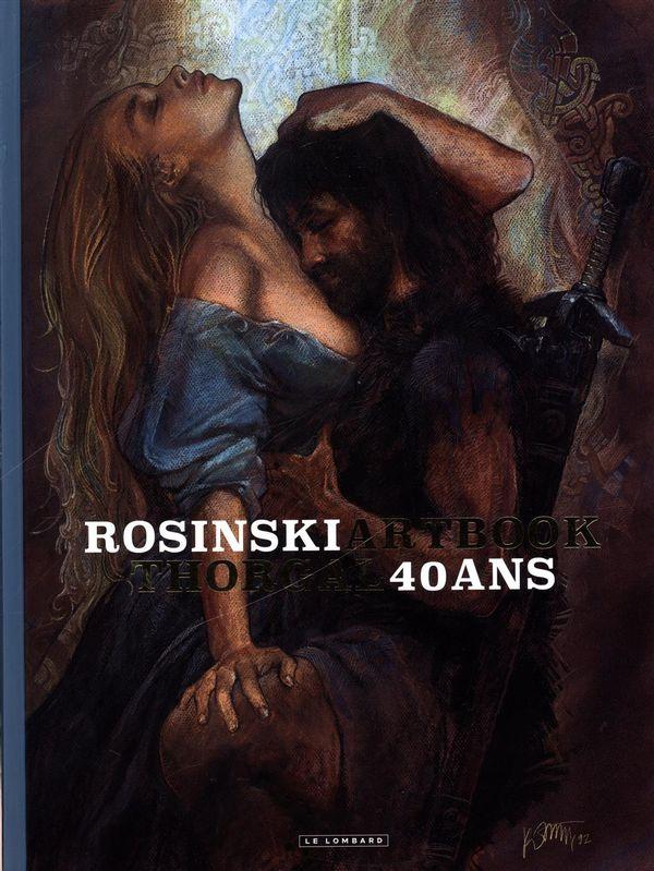 Rosinski Artbook Thorgal 40 ans