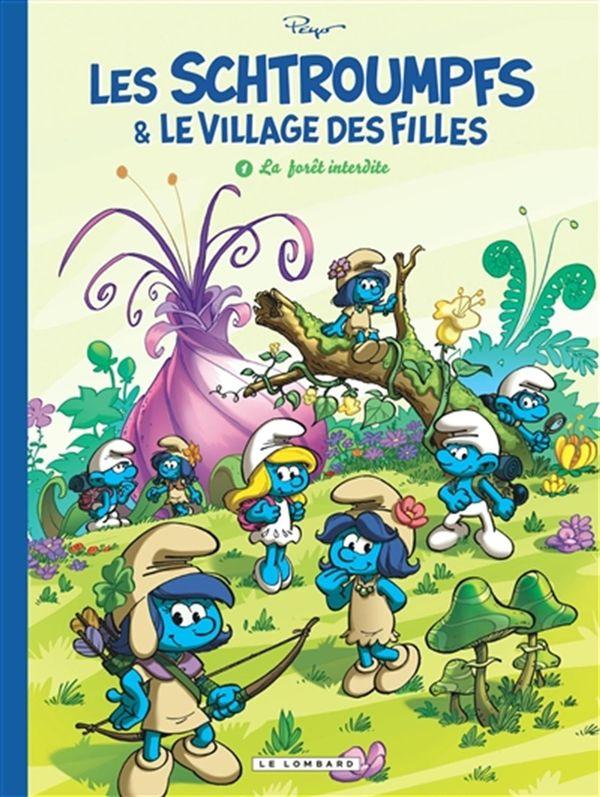 Les Schtroumpfs et Le village des filles 01 : La forêt interdite