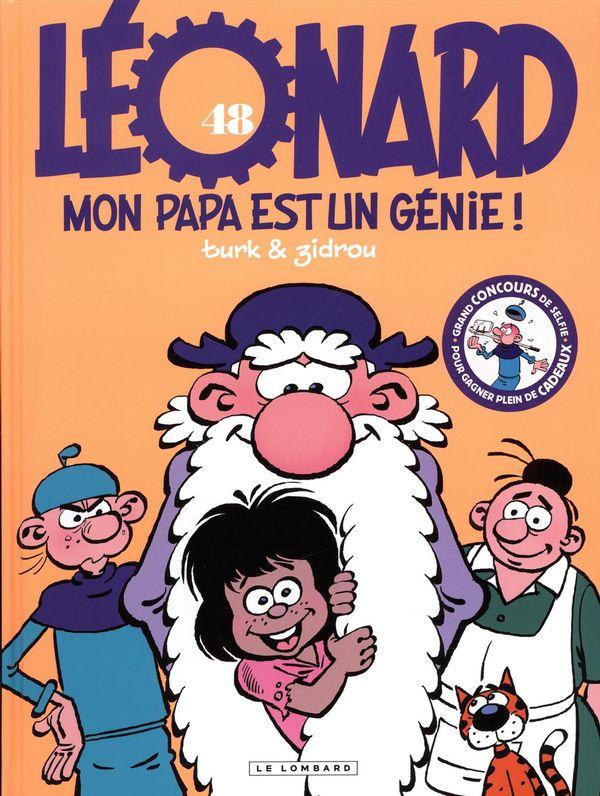 Léonard 48 : Mon papa est un génie !