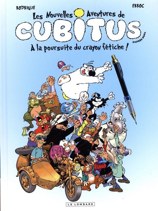 Cubitus 13  A la poursuite du crayon fétiche