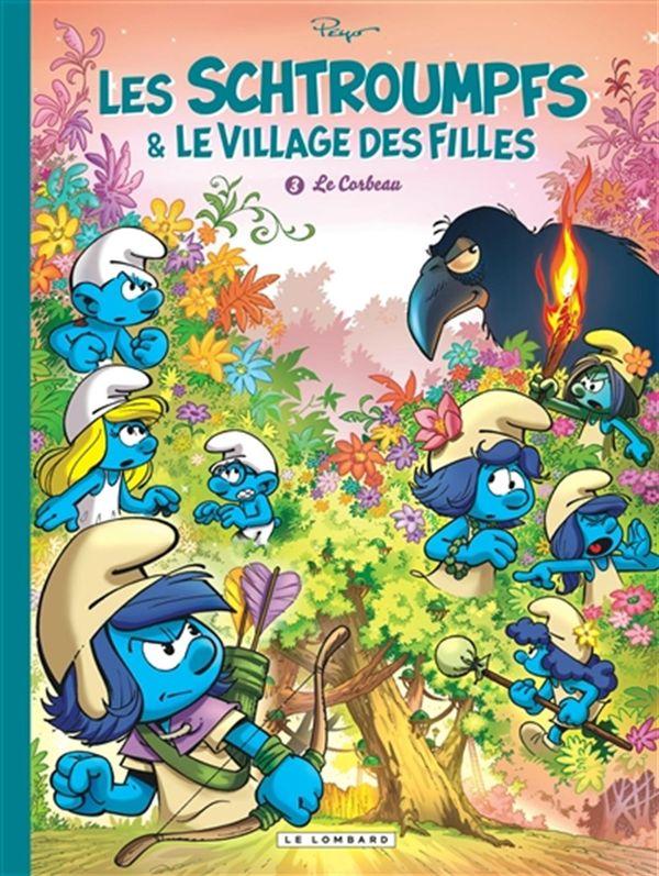 Les Schtroumpfs et le village des filles 03 : Le Corbeau