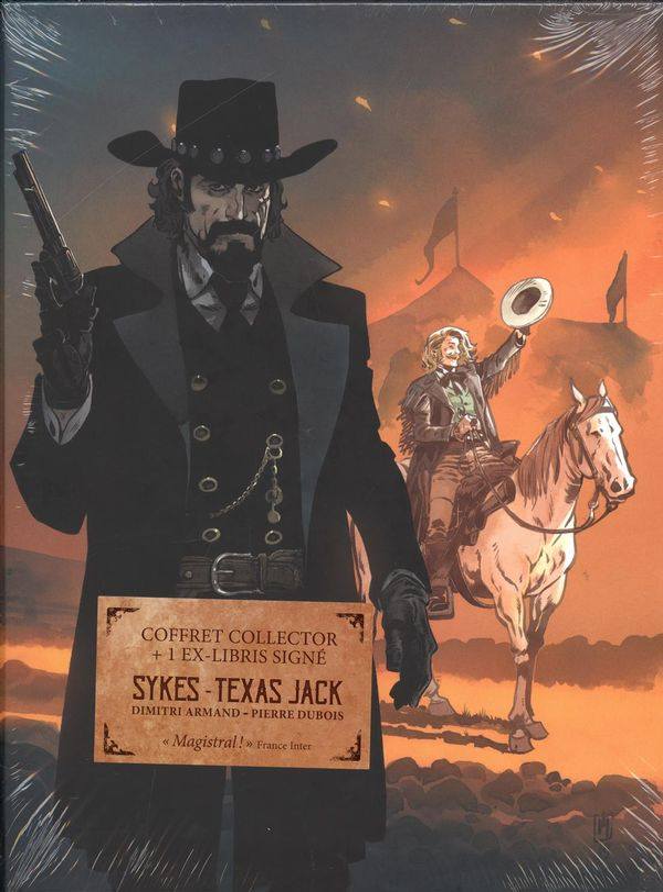 Sykes coffret (Sykes + Texas Jack) = 1 ex-libris signé