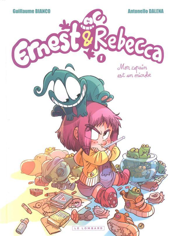 Ernest & Rebecca 01 : Mon copain est un microbe - Édition découverte