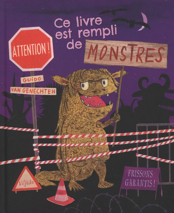 Ce livre est rempli de monstres