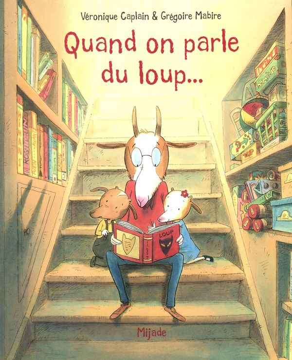 Quand on parle du loup...