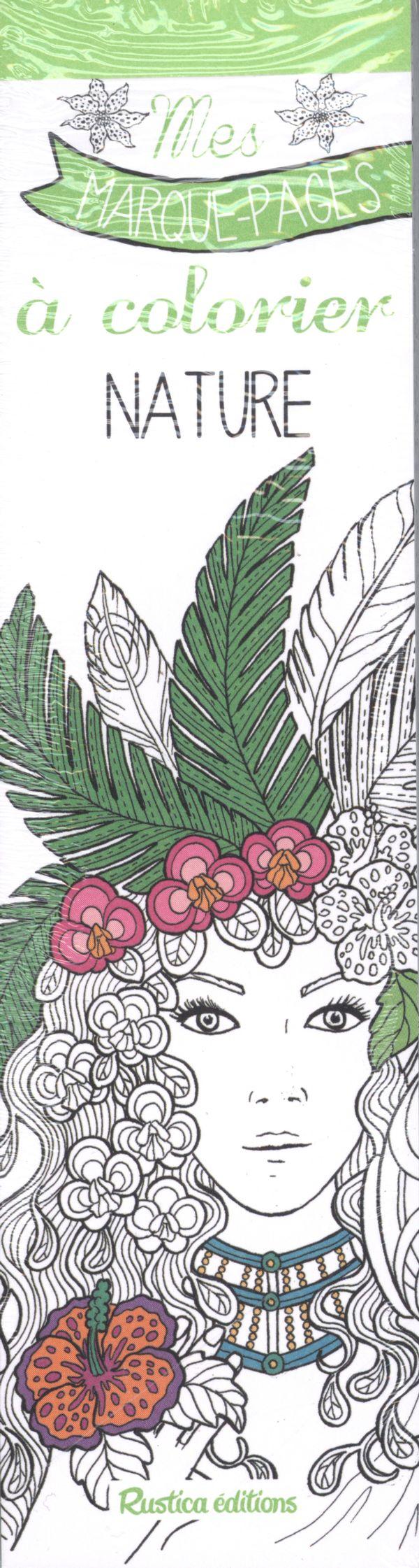Nature - Mes marques-pages à colorier