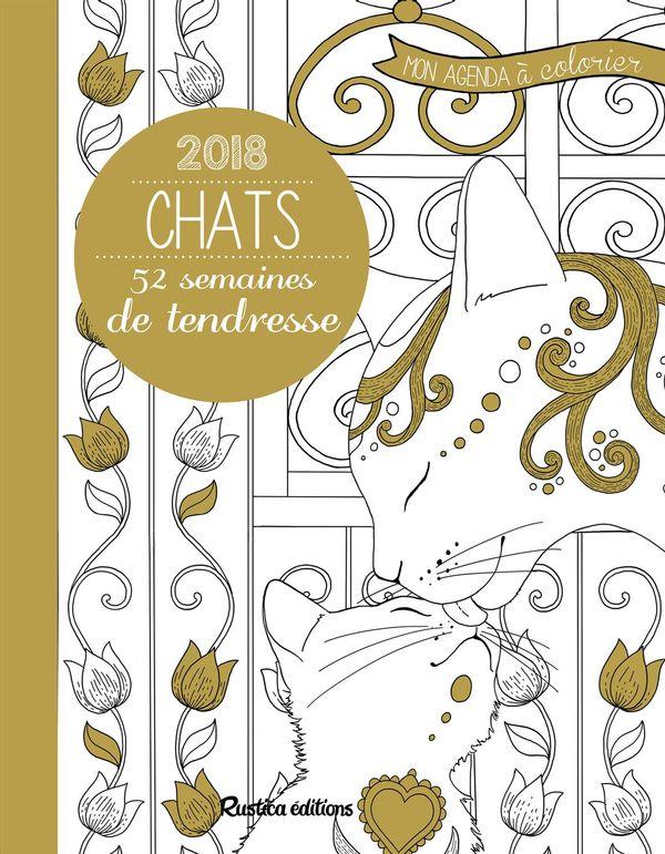 Chats 2018 - 52 semaines de tendresse