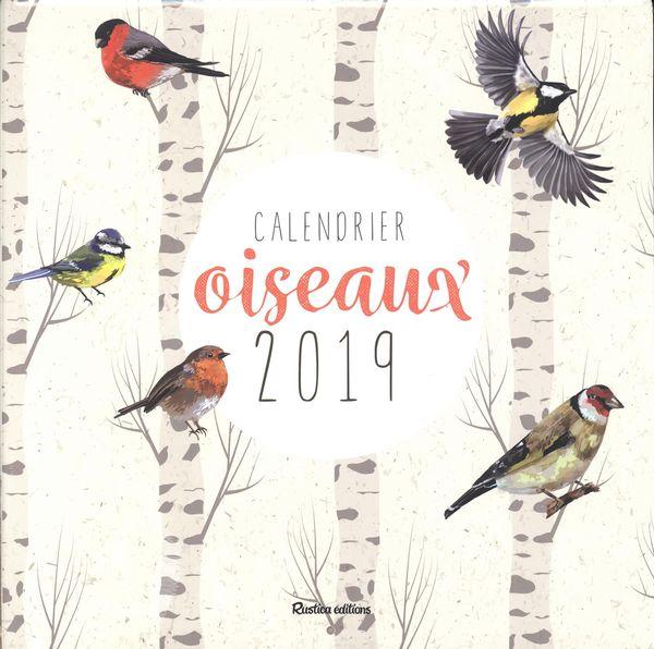 Calendrier des oiseaux 2019