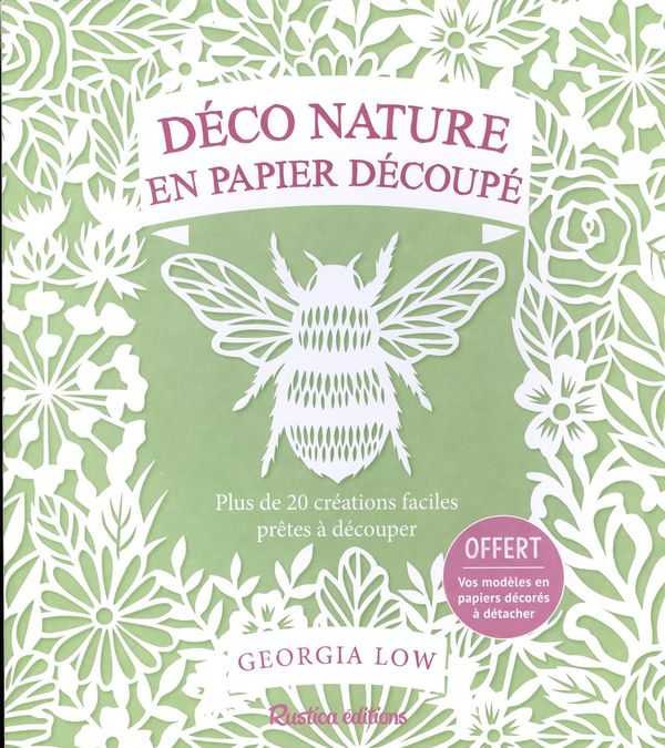 Déco nature en papier découpé