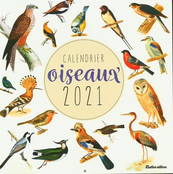 Calendrier oiseaux 2021