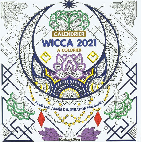 Calendrier Wicca 2021 à colorier