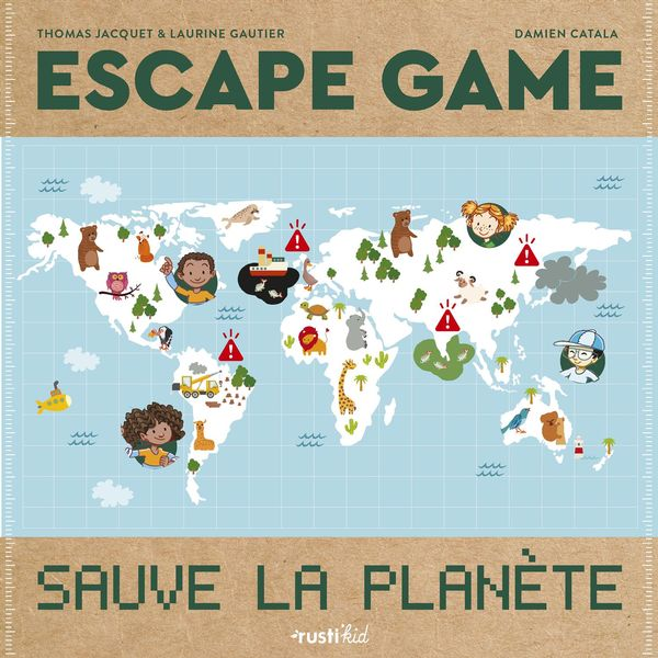 Escape game, sauve la planète