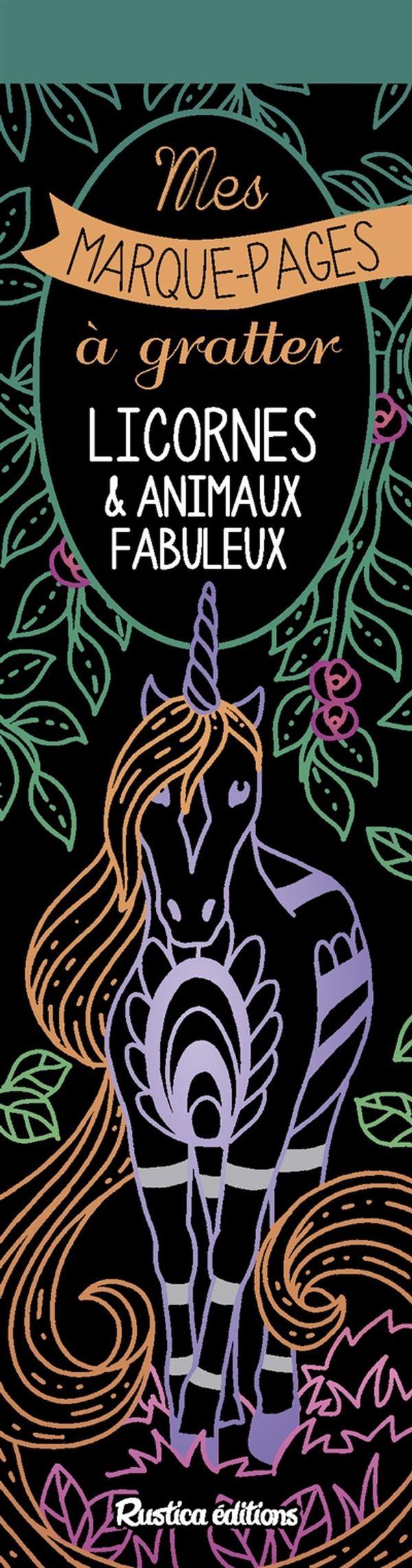 Licornes & animaux fabuleux N.E.