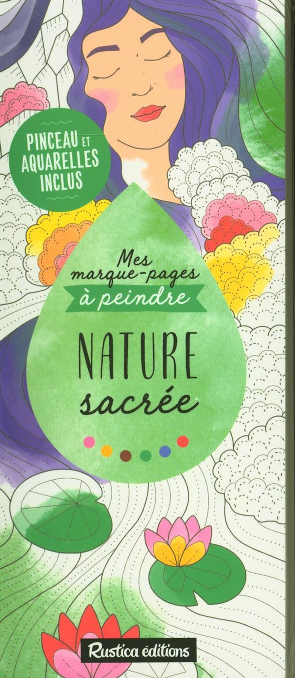 Mes marques-pages à peindre : Nature sacrée