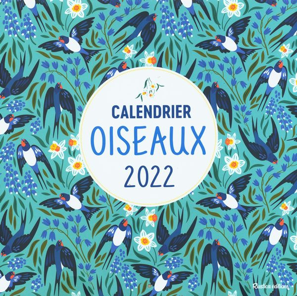 Calendrier des oiseaux 2022