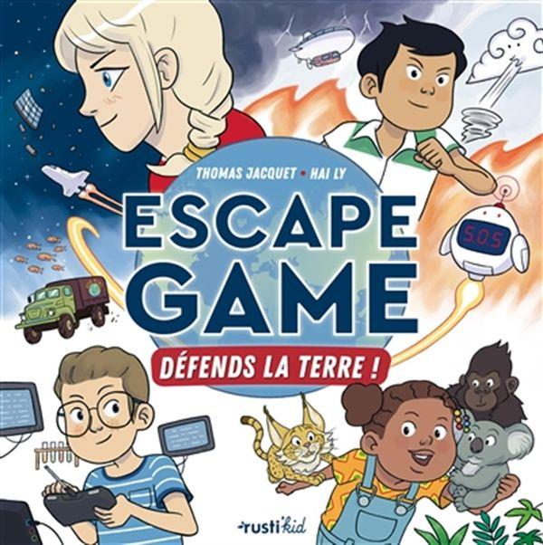 Escape game - Défends la terre !