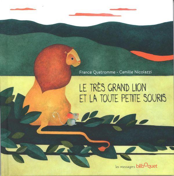 Le très grand lion et la toute petite souris