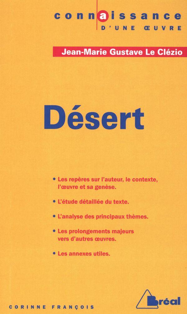 Désert - Jean-Marie Gustave Le Clézio