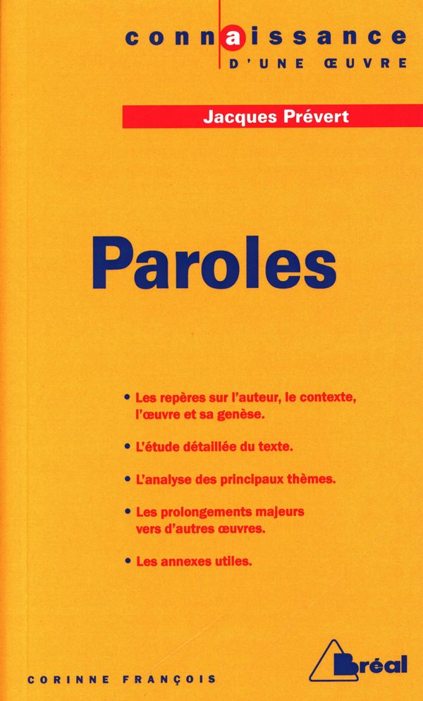 Paroles - Jacques Prévert