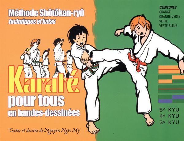 Karaté pour tous en bandes-dessinées 02
