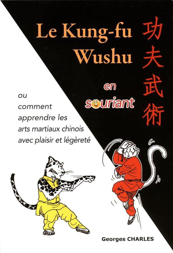 Kung-fu wushu en souriant Le