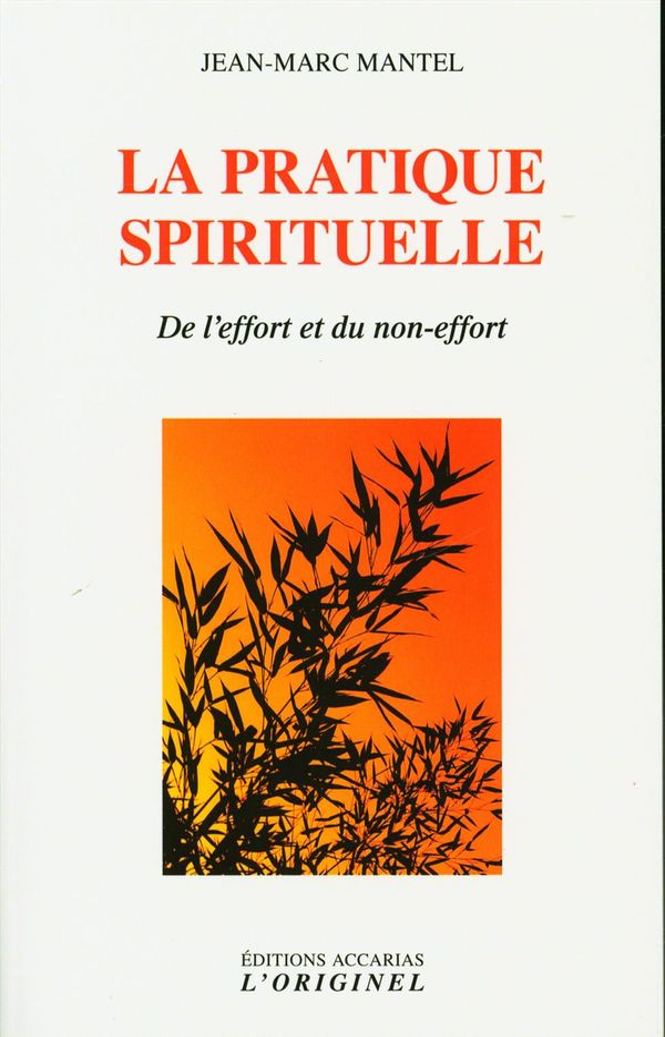La pratique spirituelle : De l'effort et du non-effort