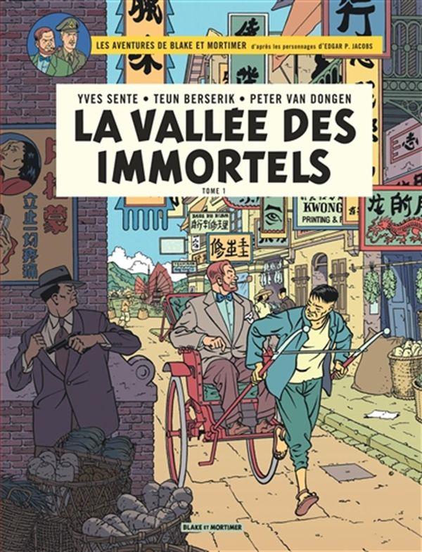 Blake et Mortimer 25 - La vallée des Immortels 01 : Menace sur Hong Kong