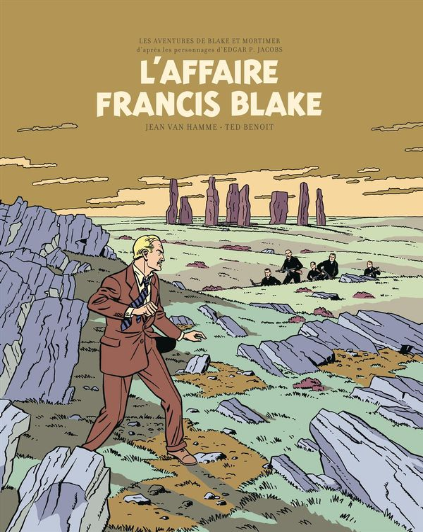 Blake & Mortimer 13 : L'affaire Francis Blake - édition bibliophile
