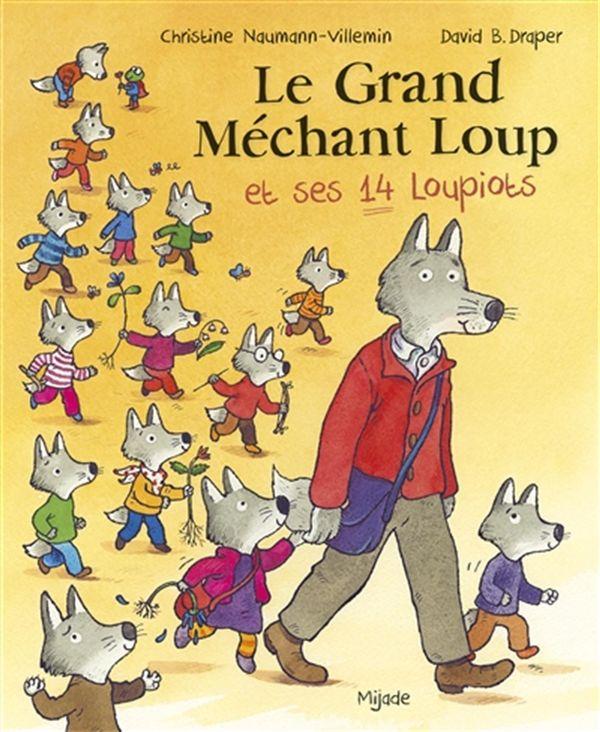 Le grand méchant loup et ses 14 loupiots