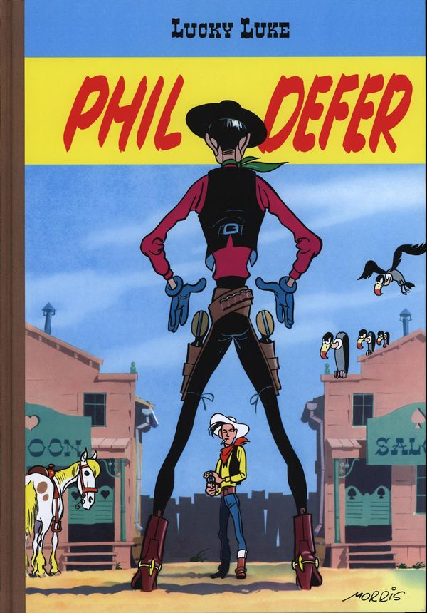 Lucky Luke Phil Defer Tirage de luxe