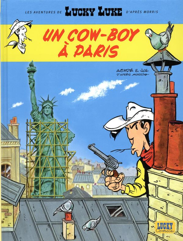 Lucky Luke - Les Aventures de 08  Un cow-boy à Paris