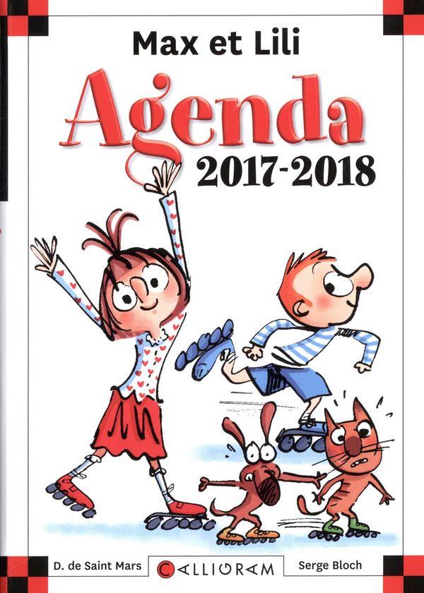 Max et Lili : Agenda scolaire 2017-2018