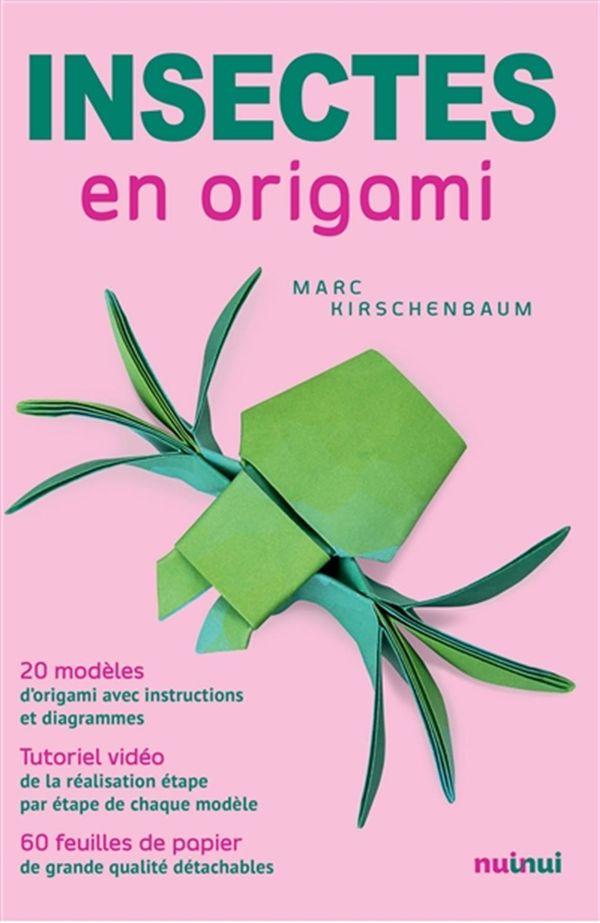 Insectes en origami