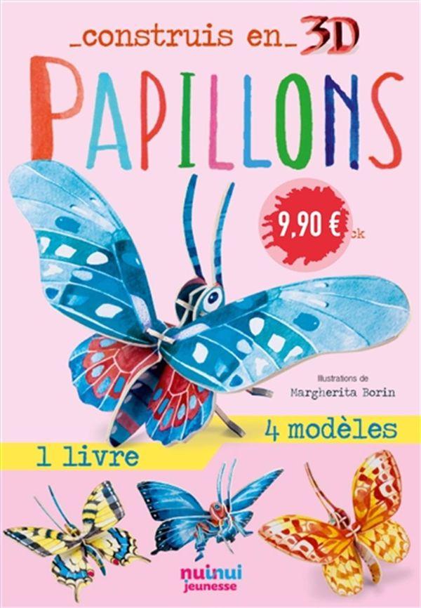Construis en 3D - Papillons