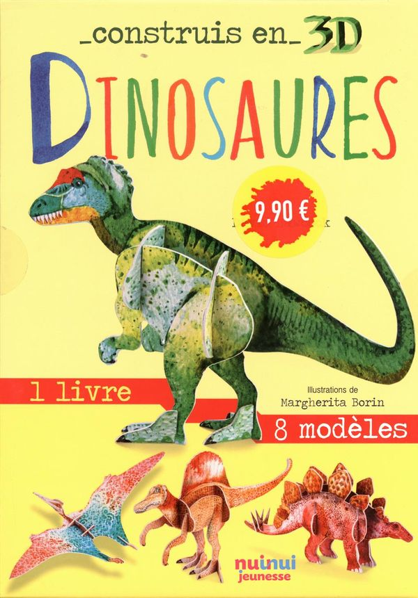 Construis en 3D - Dinosaures