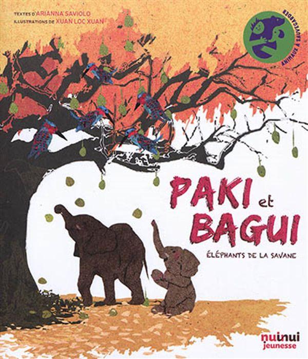 Paki et Bagui : Eléphants de la savane
