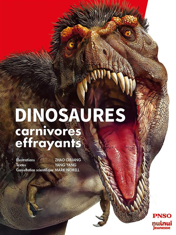 Dinosaures carnivores effrayants