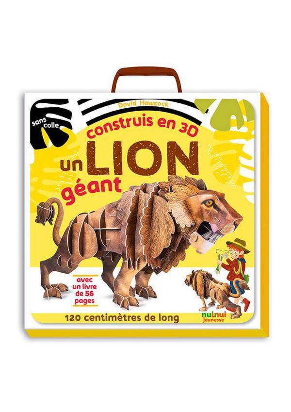 Construis en 3D - Lion géant