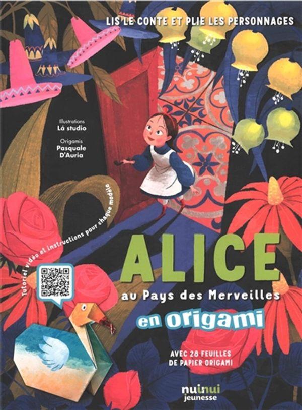 Alice au Pays des Merveilles en origami