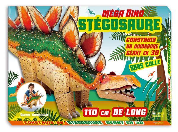 Stégosaure : Construis un dinosaure géant en 3D