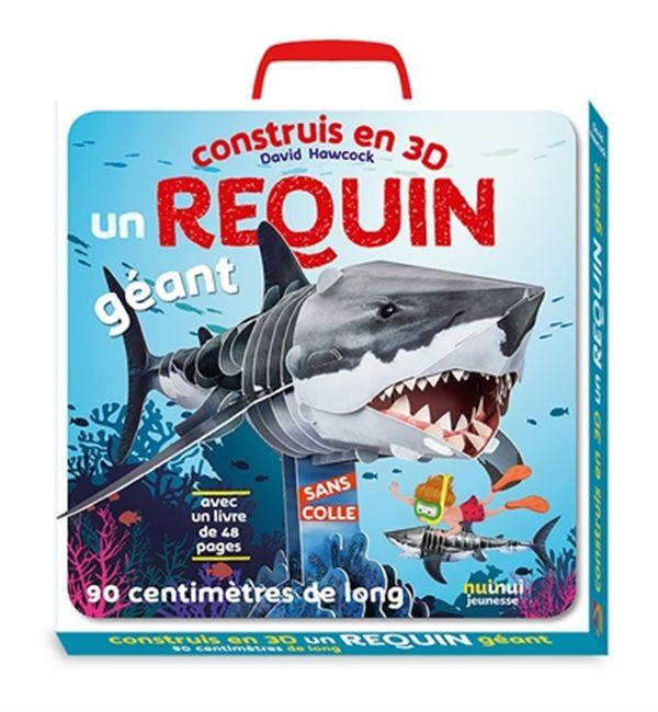 Construis en 3D un requin géant