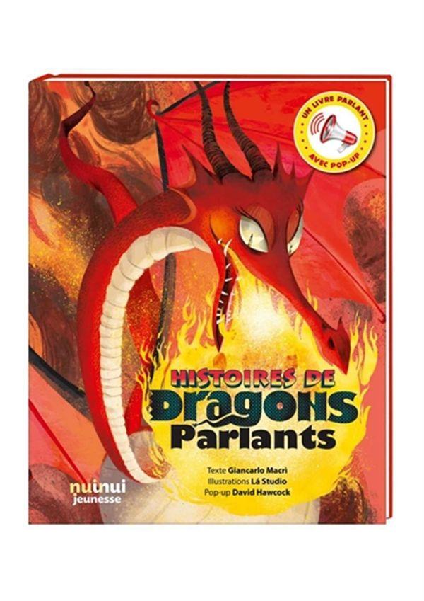Histoires de Dragons parlants : Livre parlant avec pop-up