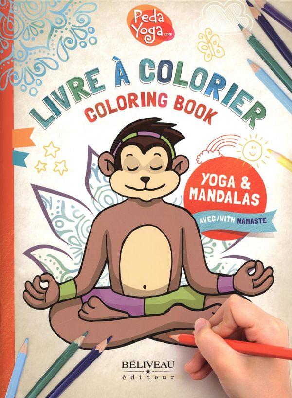 Livre à colorier : Yoga & Mandalas
