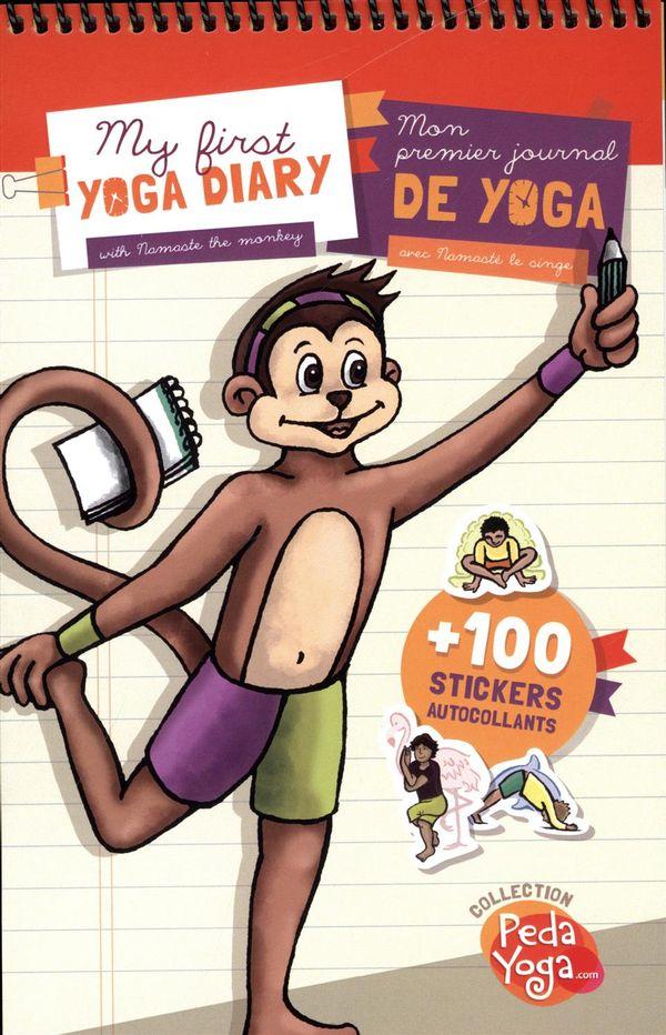Mon premier journal de yoga avec Namasté le singe