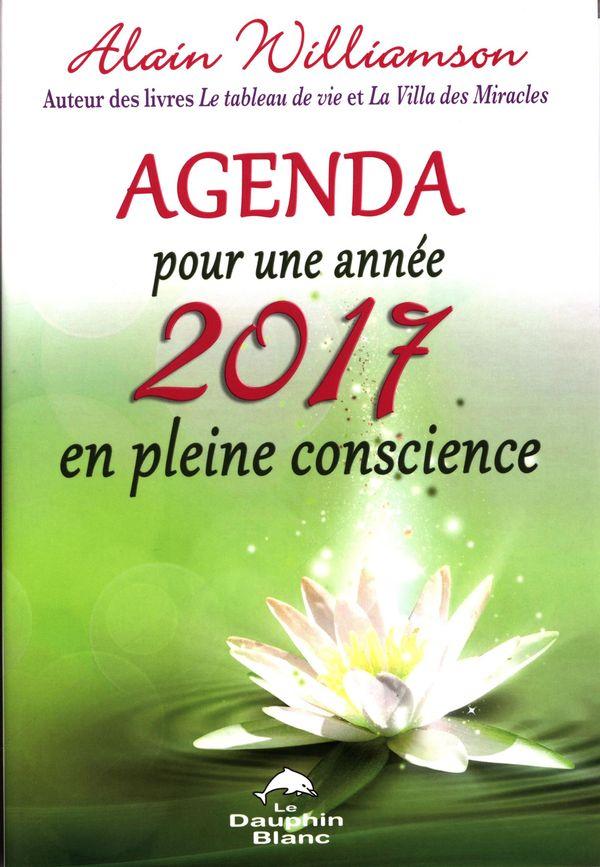Agenda pour une année 2017 en pleine conscience