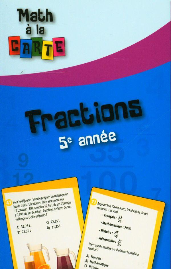 Fractions 5e année