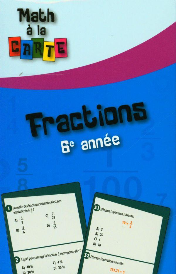 Fractions - 6e année