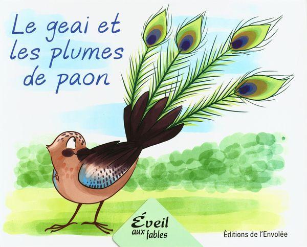 Le geai et les plumes de paon
