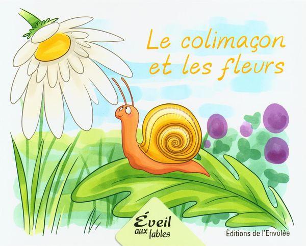 Le colimaçon et les fleurs