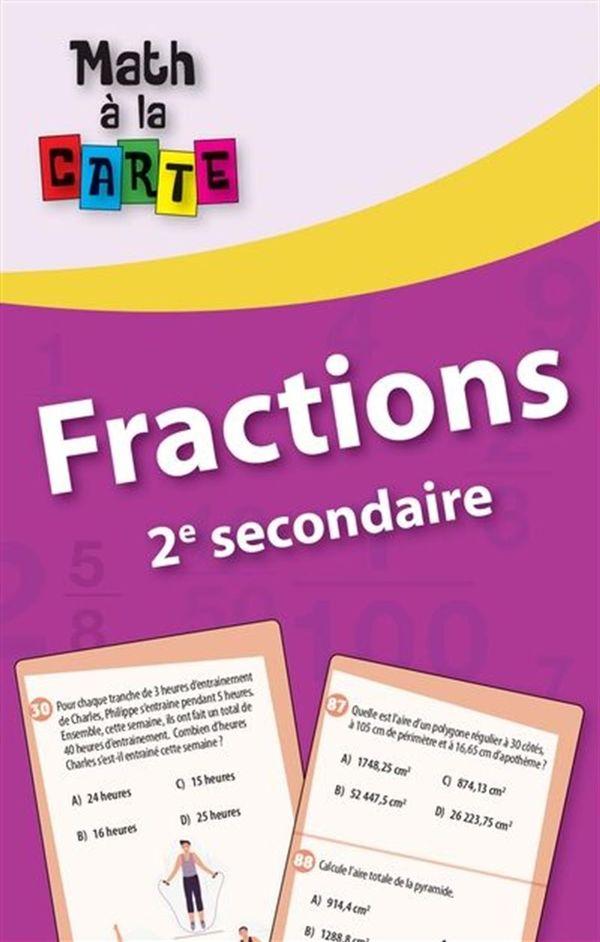 Fractions - 2e secondaire
